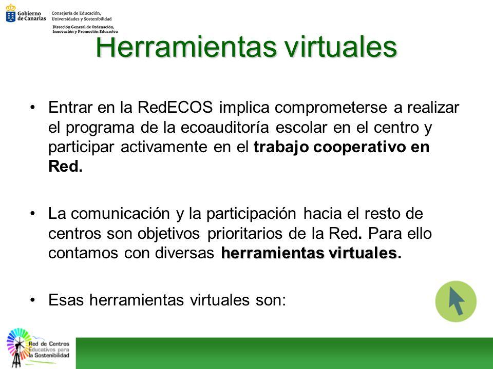 Entrar en la RedECOS implica comprometerse a realizar el programa de la ecoauditoría escolar en el centro y participar activamente en el trabajo coope