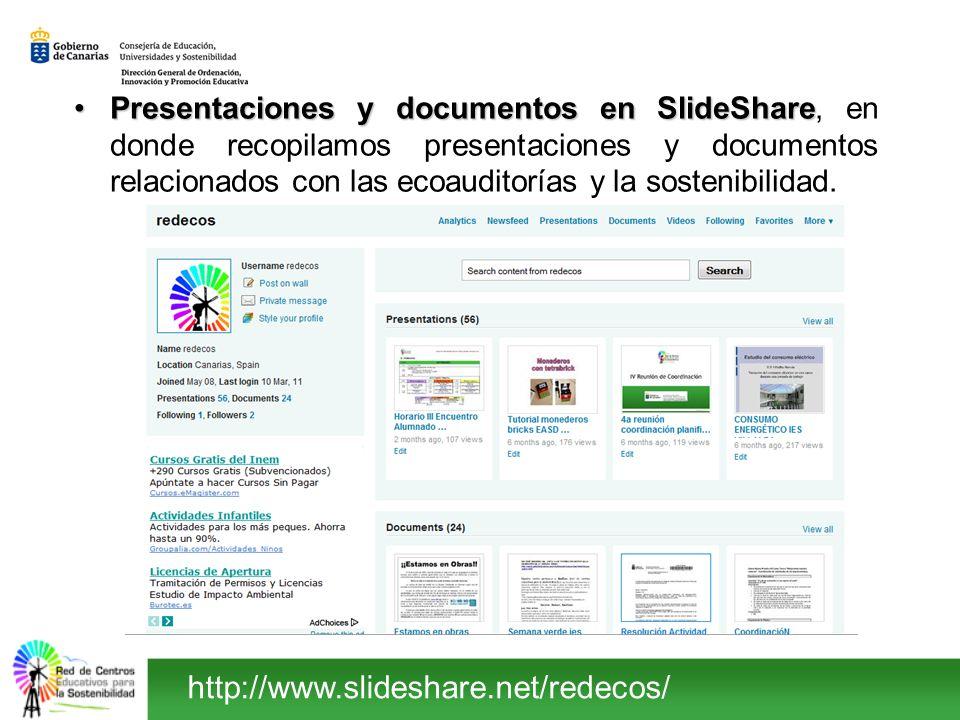 Presentaciones y documentos en SlideSharePresentaciones y documentos en SlideShare, en donde recopilamos presentaciones y documentos relacionados con