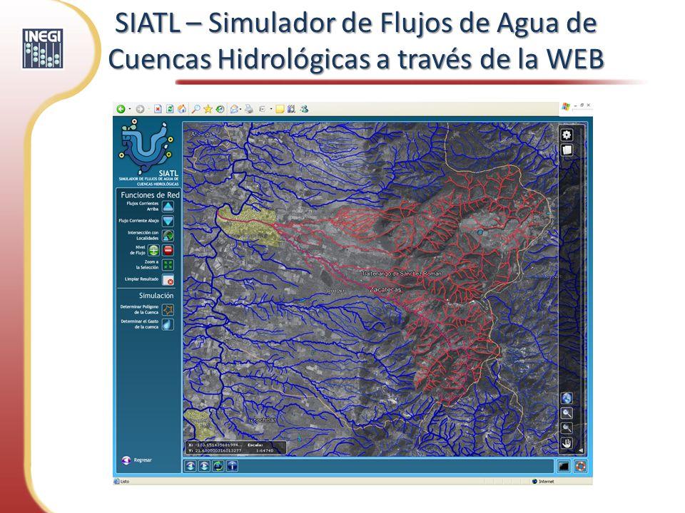 SIATL – Simulador de Flujos de Agua de Cuencas Hidrológicas a través de la WEB