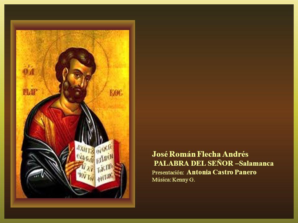 Señor Jesús, te agradecemos tu presencia entre nosotros. Sin ella no podremos continuar tu misión que es ya la nuestra. Aumenta tú nuestra fe y confir
