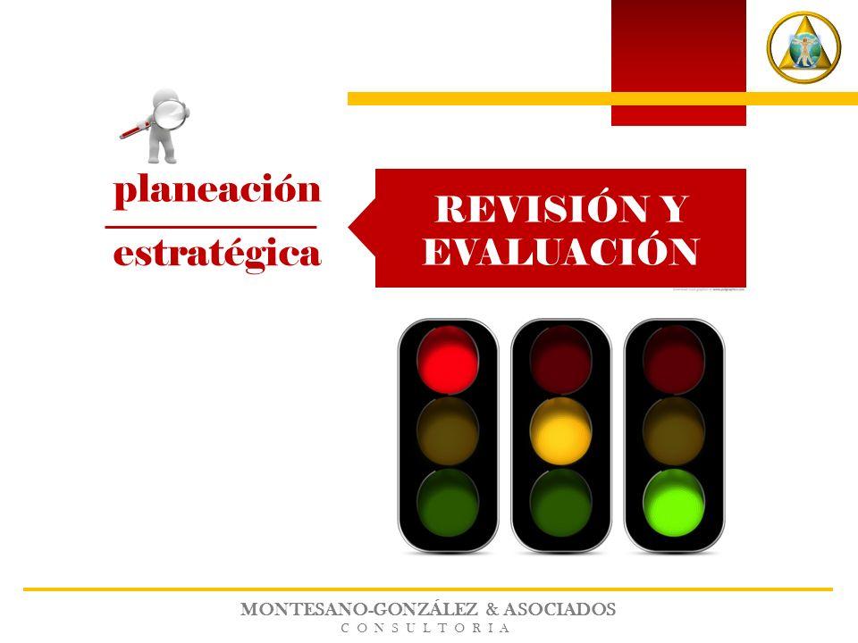 MONTESANO-GONZÁLEZ & ASOCIADOS CONSULTORIA planeación estratégica REVISIÓN Y EVALUACIÓN