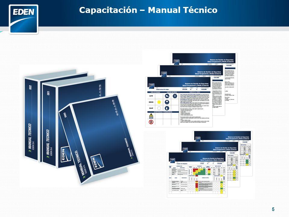 5 Capacitación – Manual Técnico