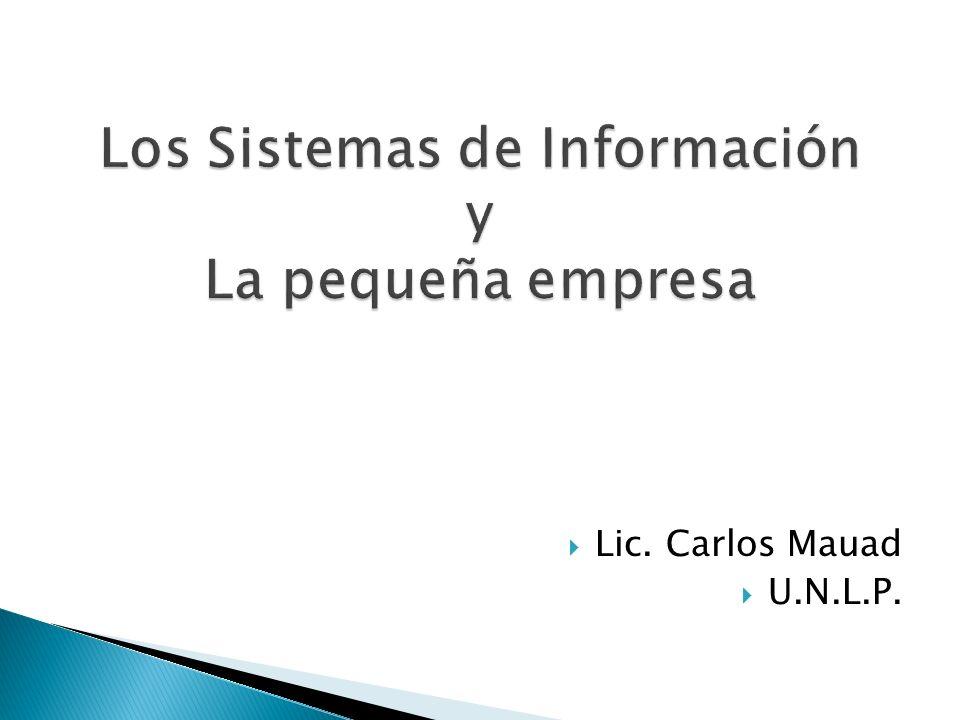Lic. Carlos Mauad U.N.L.P.