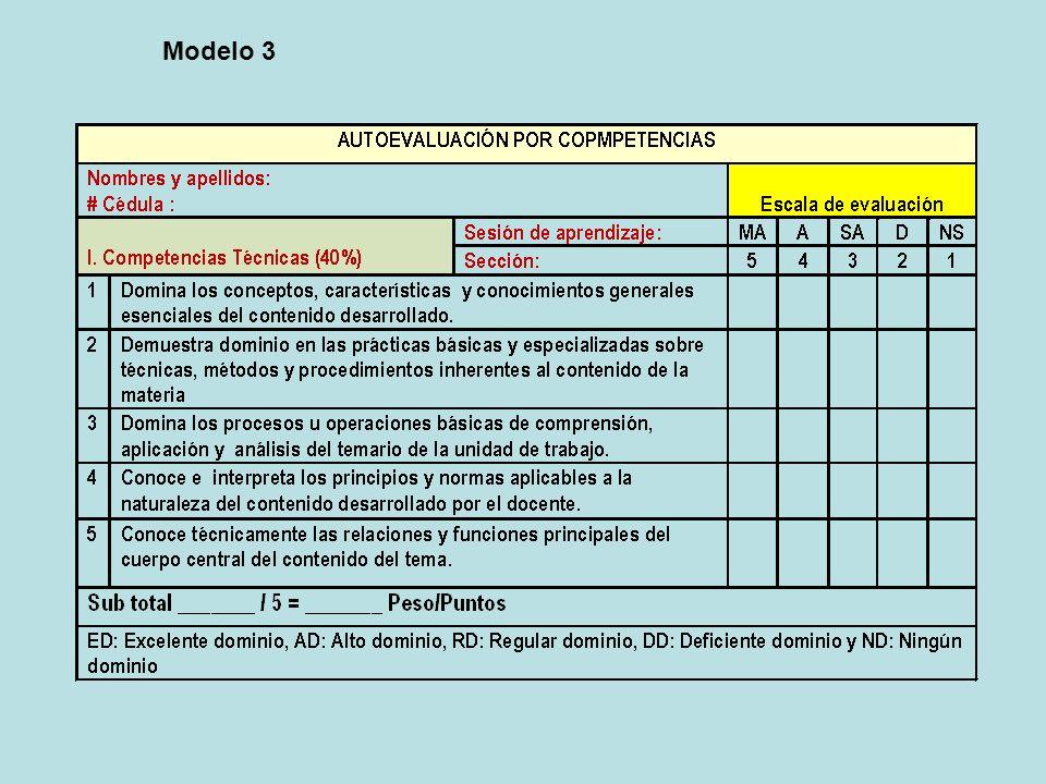 Modelo 3