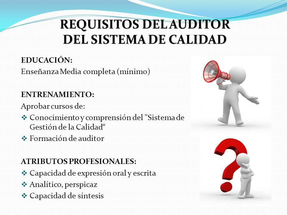 OBJETIVOS DE LA AUDITORÍA Verificar a través de su documentación (Manual de Calidad, Procedimientos, Instrucciones y Registros) si el SGC, atiende las disposiciones establecidas por el Sistema de Calidad.