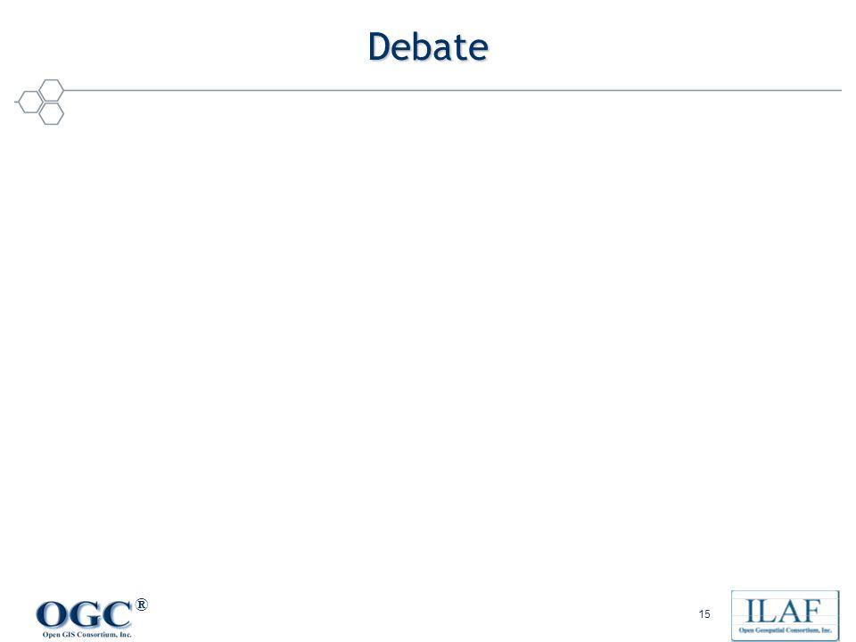 ® 15 Debate