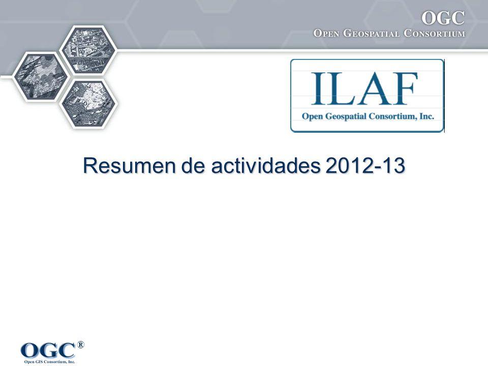 ® Resumen de actividades 2012-13