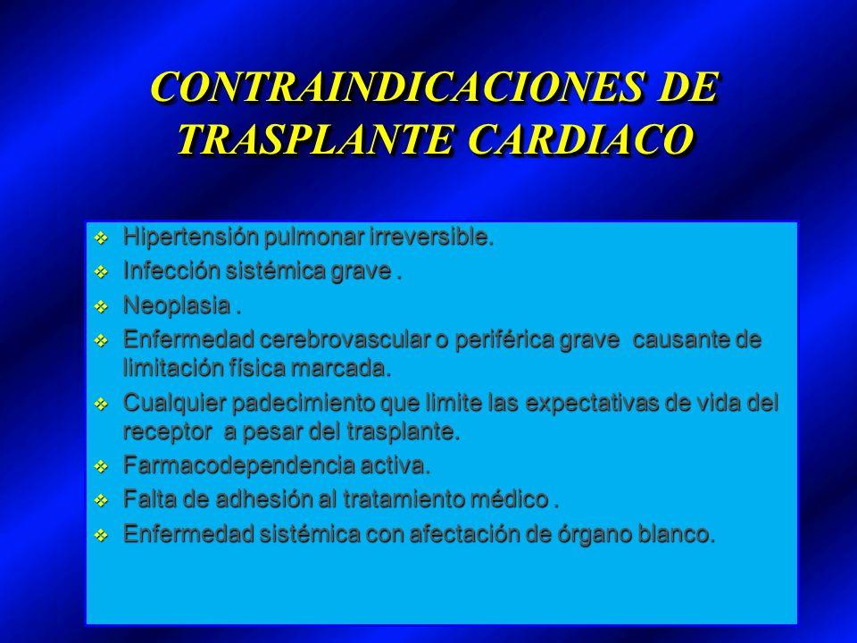 EVALUACION PREOPERATORIA DE RECEPTOR Eval.Cardiovascular EKG, Ecocardio.