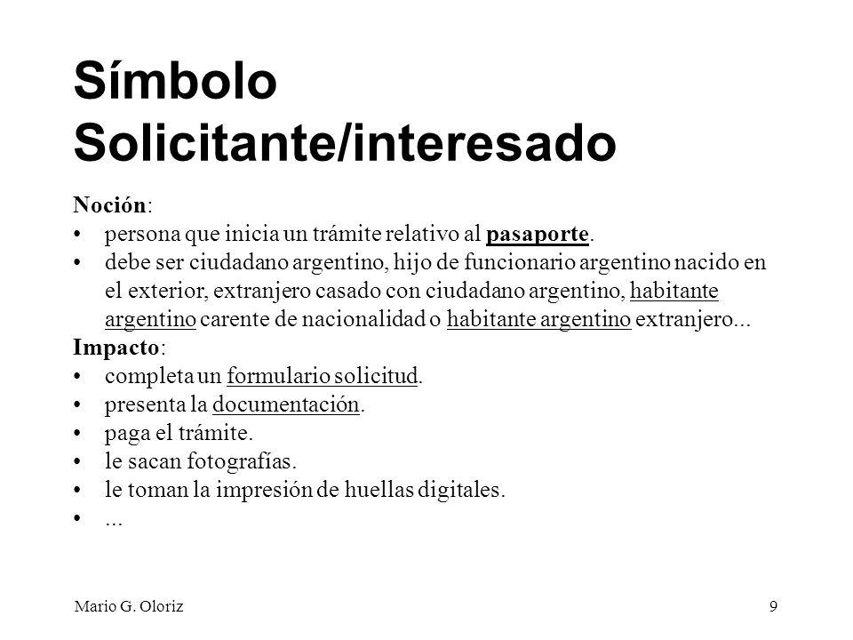 Mario G.Oloriz40 Nombre: COBRAR TRAMITE Objetivo: Cobrar el trámite al solicitante.