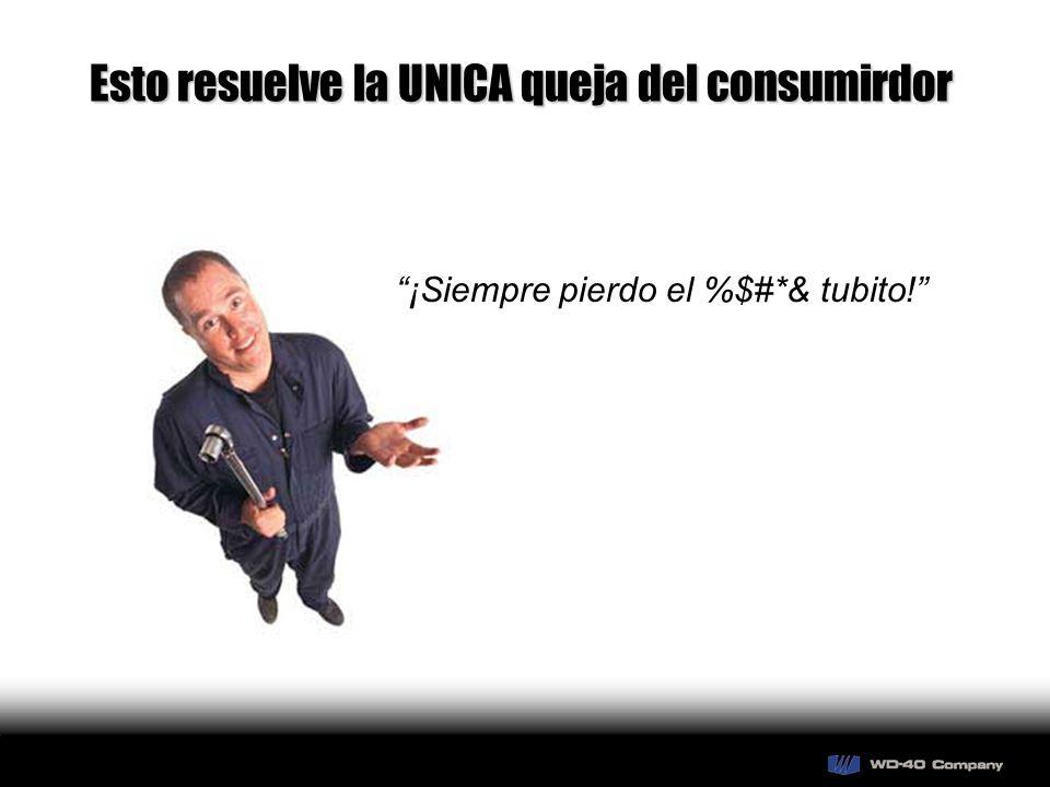 Esto resuelve la UNICA queja del consumirdor ¡Siempre pierdo el %$#*& tubito!