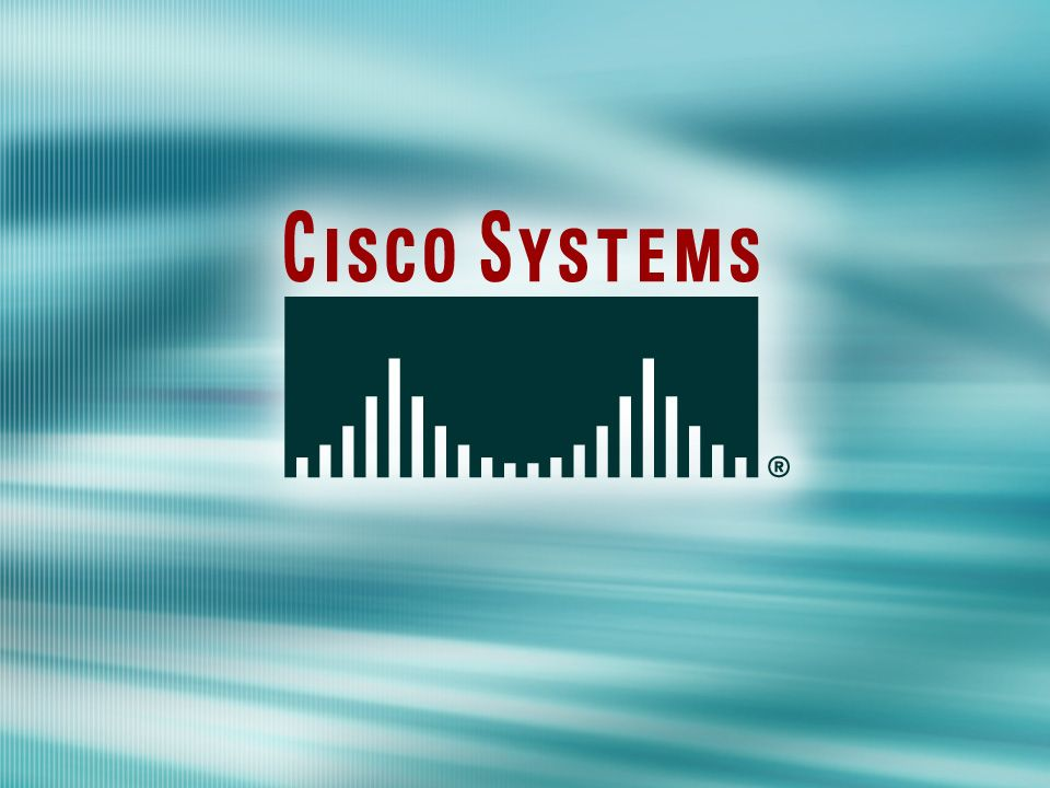 © 2003 Cisco Systems, Inc. All rights reserved.