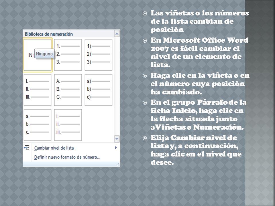 Si el texto está escrito, selecciono todo el texto al cual quiero aplicar la Lista multinivel y ejecuto la herramienta, veremos que por cada párrafo se ha agregado una numeración.