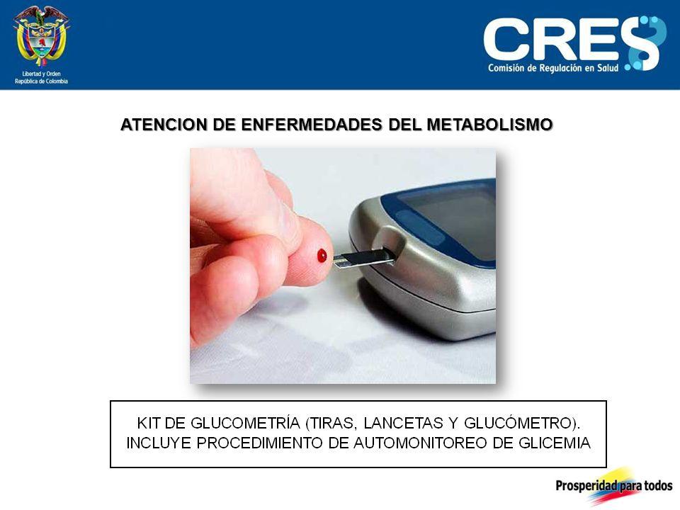 ATENCION DE ENFERMEDADES DEL METABOLISMO