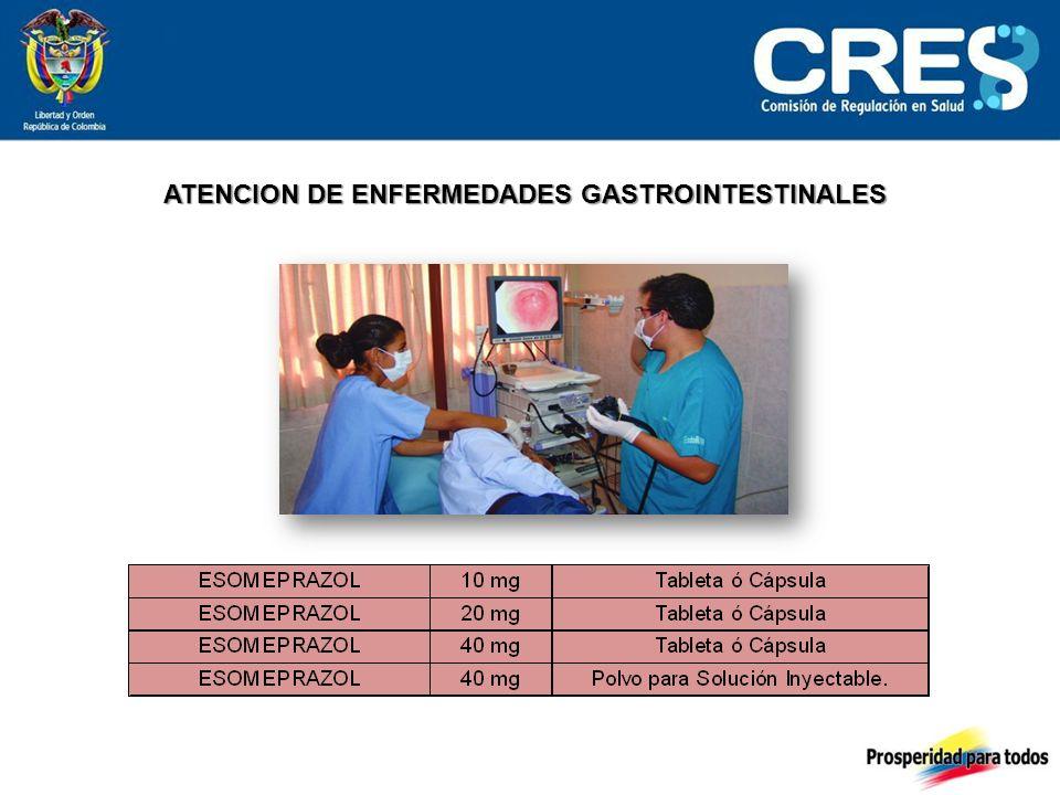 ATENCION DE ENFERMEDADES GASTROINTESTINALES