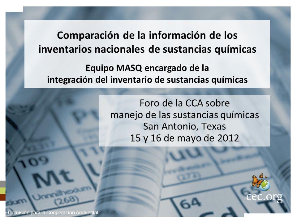 Antecedentes La conclusión del inventario mexicano abre oportunidades para comparar los inventarios de las tres naciones.