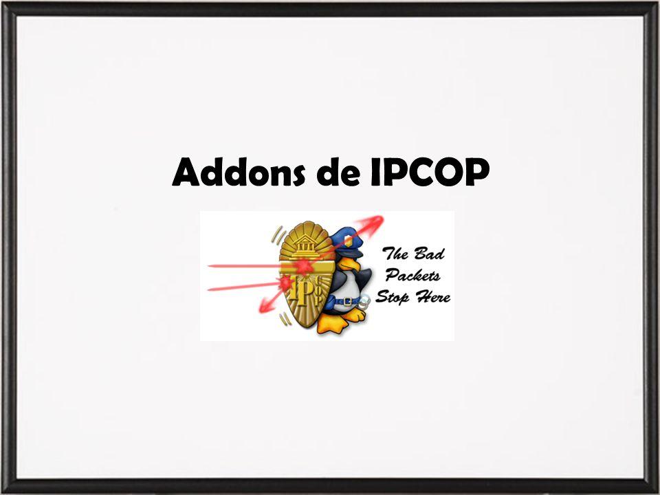 Addons de IPCOP