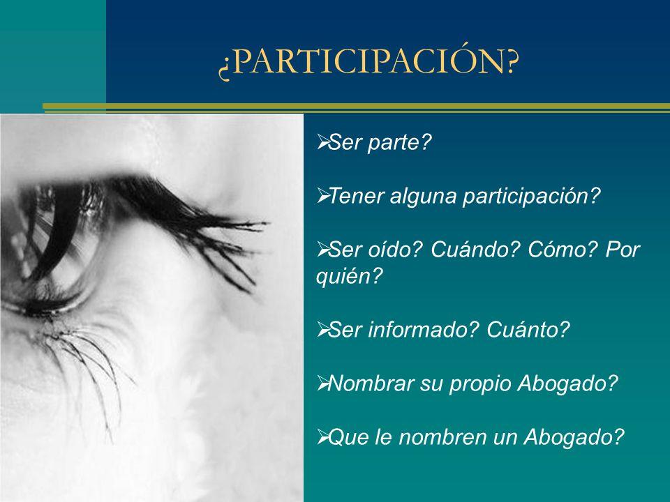 Designación judicial de letrado patrocinante de niños menores de 14 años CSJN, 26/10/10.