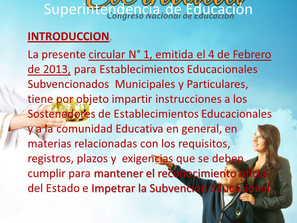Superintendencia de Educación 26.DEL SEGURO ESCOLAR ACCIDENTES 26.1.