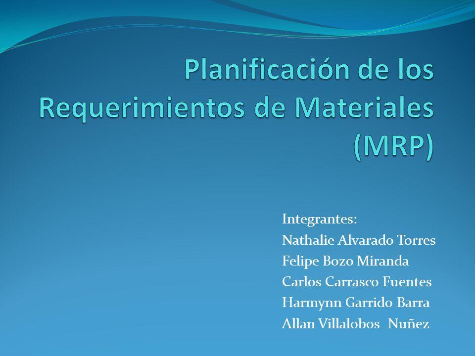 Integrantes: Nathalie Alvarado Torres Felipe Bozo Miranda Carlos Carrasco Fuentes Harmynn Garrido Barra Allan Villalobos Nuñez