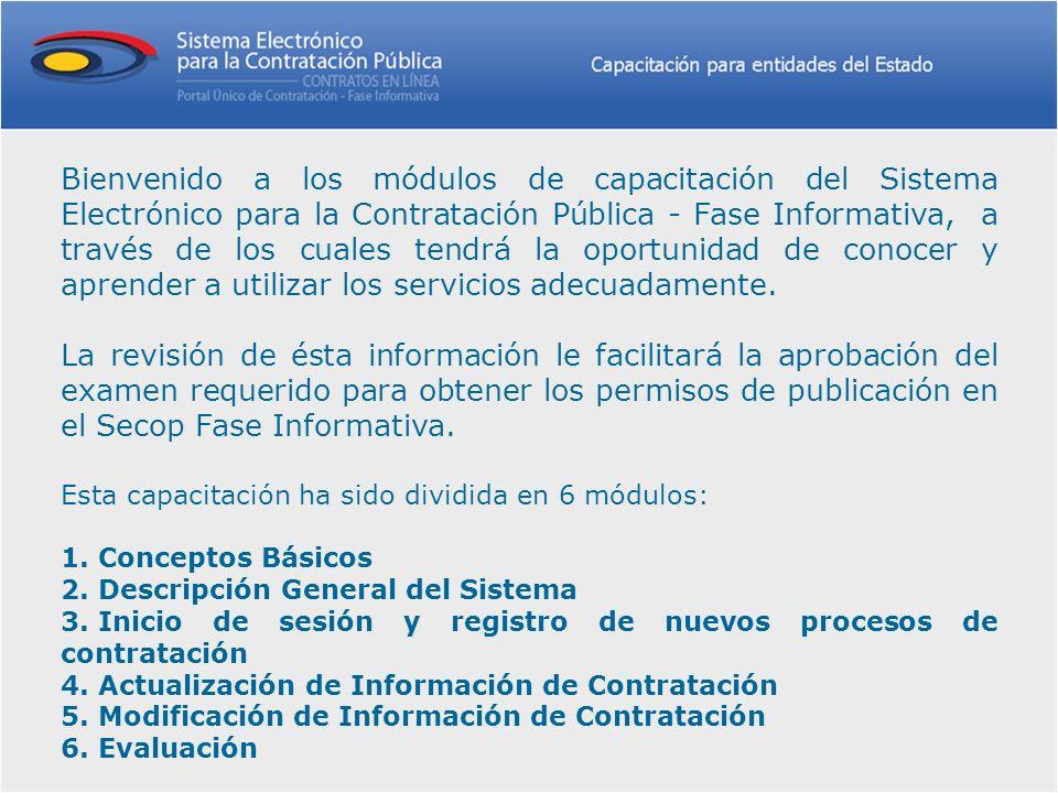 Descartado El estado descartado está previsto para aquellos procesos que estando en el estado borrador la entidad contratante decida no dar apertura a los mismos.