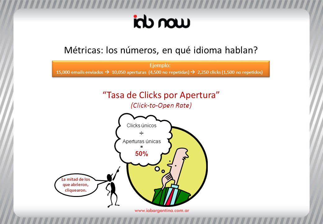 Métricas: los números, en qué idioma hablan.