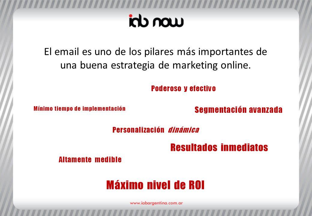 El email es uno de los pilares más importantes de una buena estrategia de marketing online.