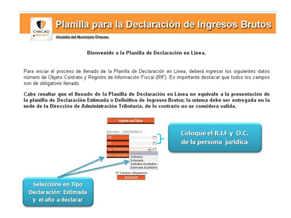 Culminado el proceso de declaración, presione la opción de imprimir PASO 4.- PASO 4.- VERIFICACIÓN E IMPRESIÓN DE LA PLANILLA DE DECLARACIÓN ESTIMADA Imprima dos (2) ejemplares de la planilla estimada 2014 y preséntalos ante la D.A.T.