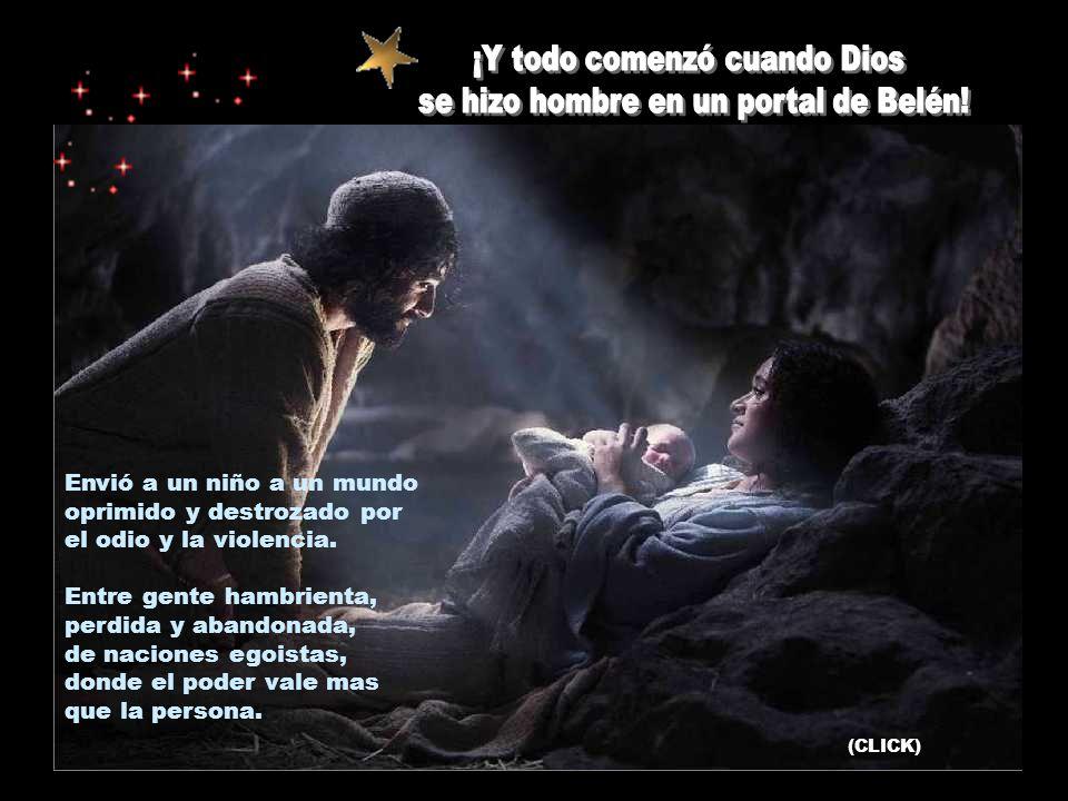 Os traigo la buena noticia, la gran alegría para todo el pueblo: hoy, en la ciudad de David, os ha nacido un salvador: el Mesías, el Señor (Lc 2, 10-1