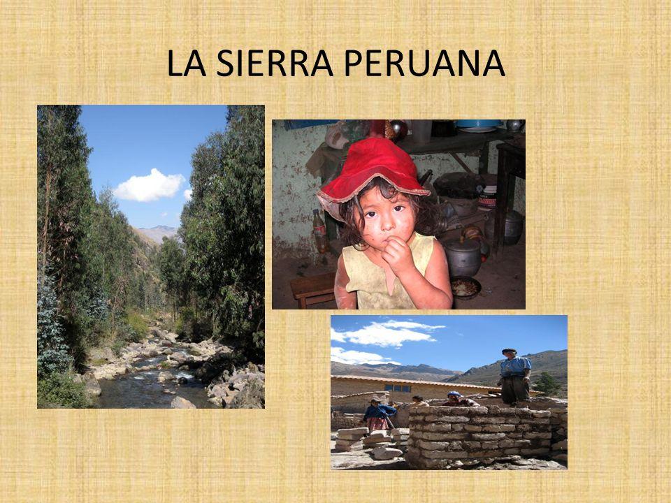 LA SIERRA PERUANA