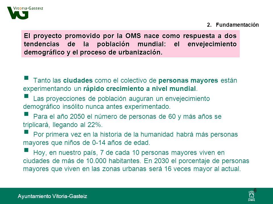 Ayuntamiento Vitoria-Gasteiz Es un enfoque de investigación participativa basado en el trabajo con grupos que involucra a las personas en el análisis y expresión de su situación para informar a la política municipal.
