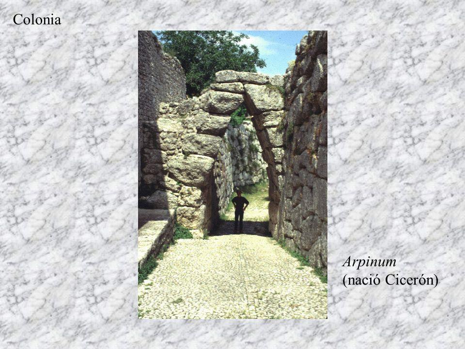 Arpinum (nació Cicerón) Colonia