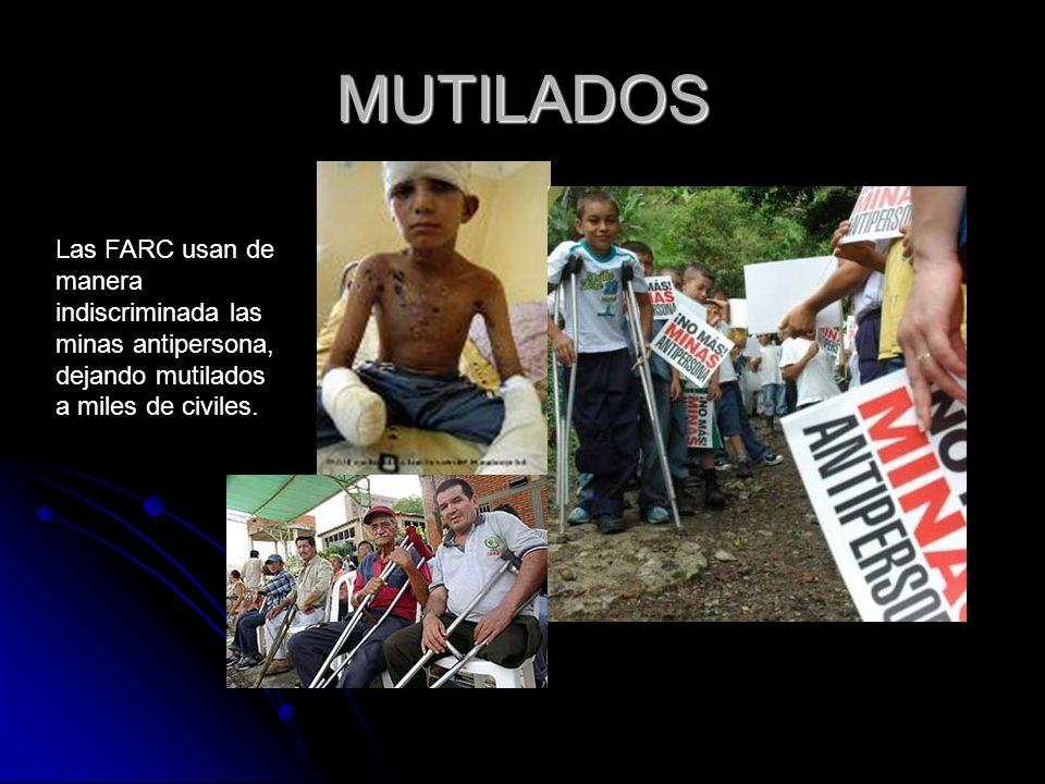 ¿QUÉ CREE USTED.ANTE LO ANTERIOR ¿PARA USTED LAS FARC SON TERRORISTAS O NO?...