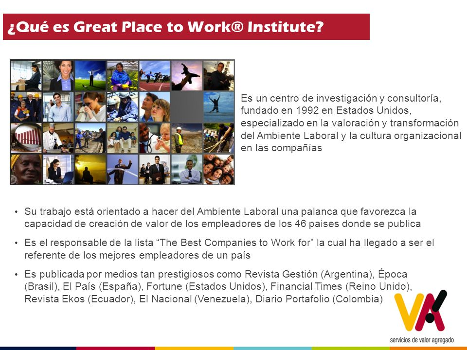 ¿Qué es Great Place to Work® Institute.