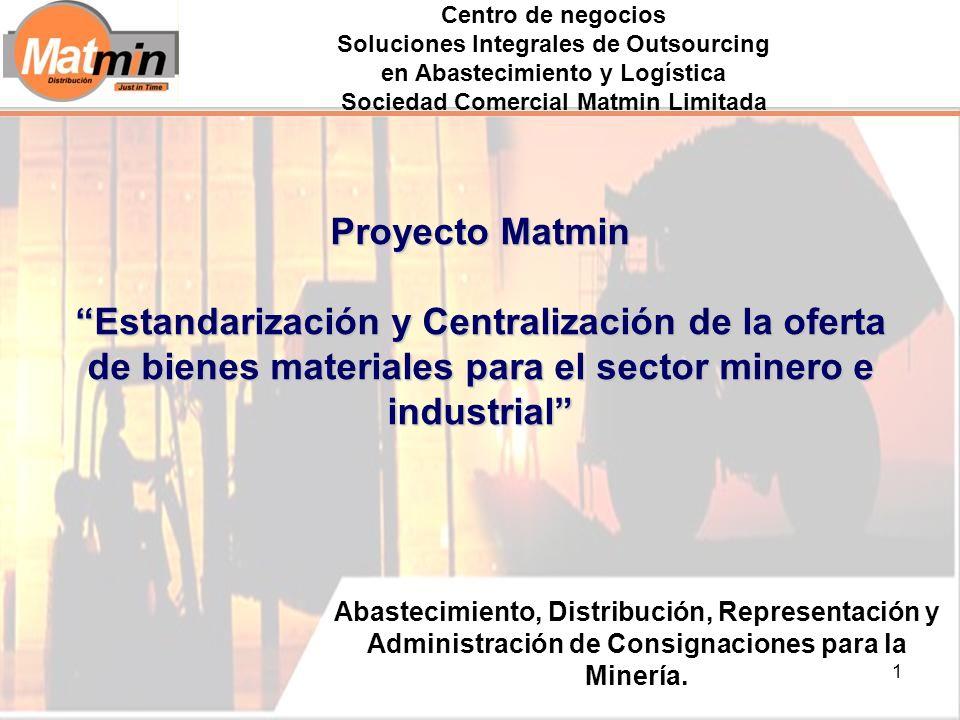1 Abastecimiento, Distribución, Representación y Administración de Consignaciones para la Minería.