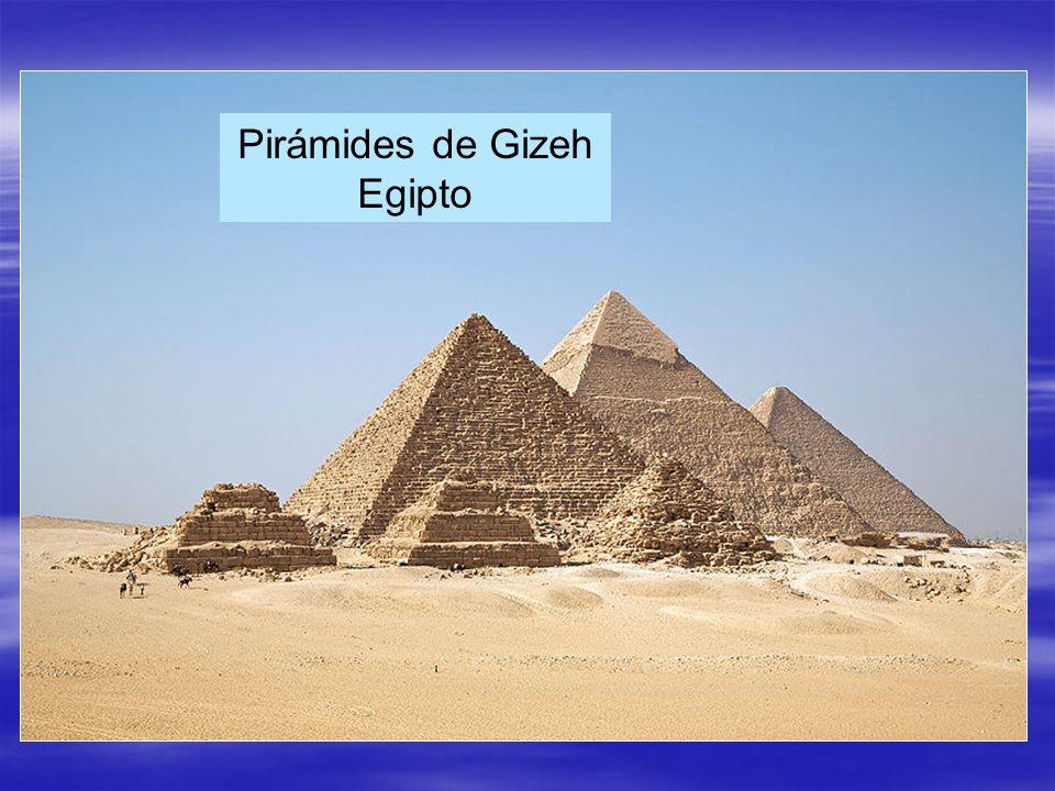 Pirámides de Gizeh Egipto