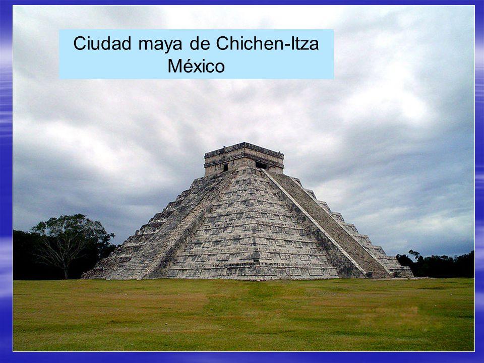 Ciudad maya de Chichen-Itza México
