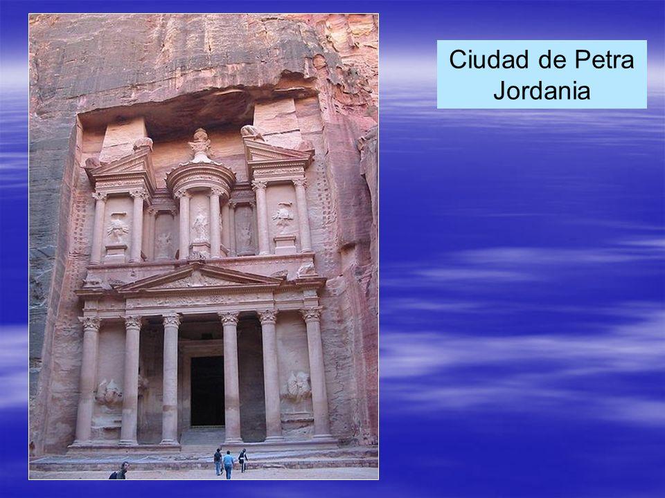 Ciudad de Petra Jordania