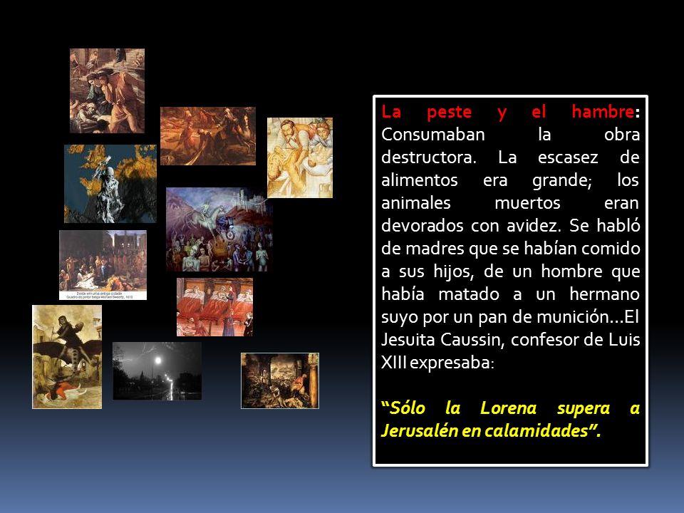 MONSEÑOR, DÉLE LA PAZ A FRANCIA Las primeras noticias sobre la desolación de Lorena las recibió Vicente de los misioneros de la casa de Toul (1635).