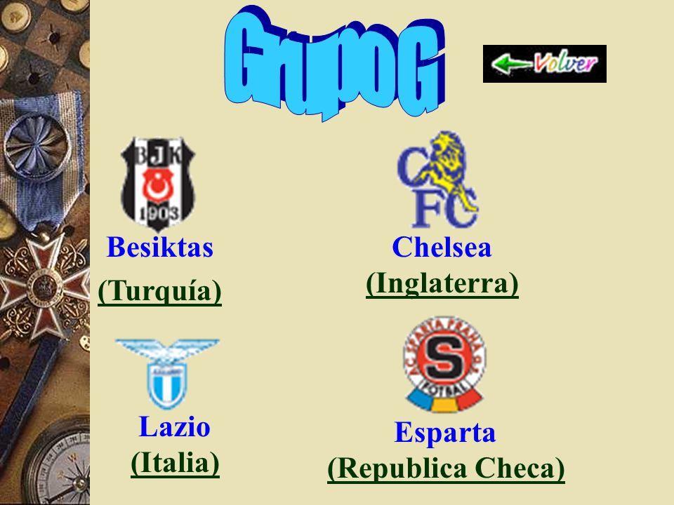 Marsella (Francia) Partizan (Servia y Montenegro) (Servia y Montenegro) Oporto (Portugal) (Portugal) Real Madrid (España) (España)