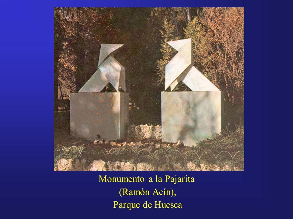 Monumento a la Pajarita (Ramón Acín), Parque de Huesca