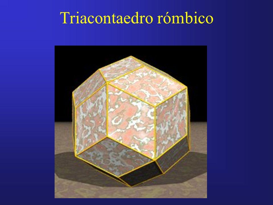 Triacontaedro rómbico
