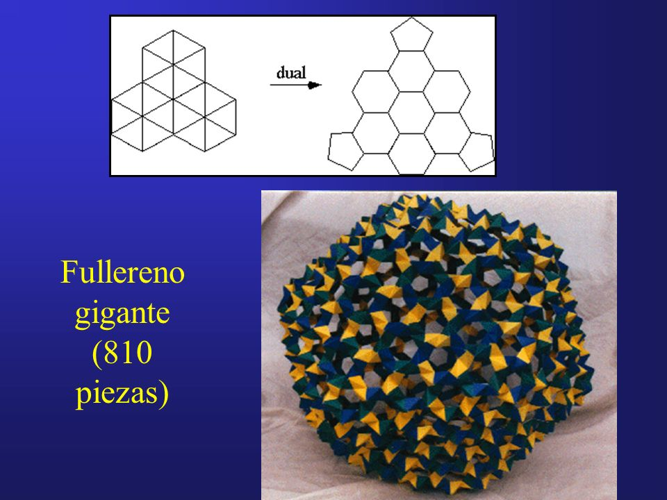 Fullereno gigante (810 piezas)