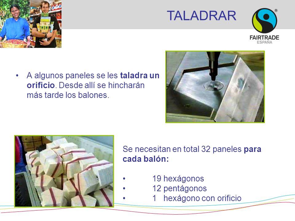 EL PRODUCTO FINAL Puedes encontrar balones de varios deportes y otros productos de Comercio Justo con el Sello FAIRTRADE.