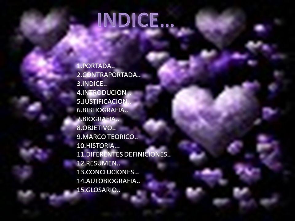 1.PORTADA..2.CONTRAPORTADA.. 3.INDICE.. 4.INTRODUCION..