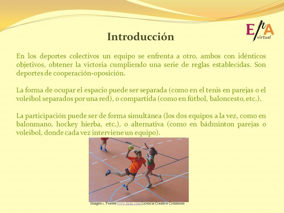 Introducción En los deportes colectivos un equipo se enfrenta a otro, ambos con idénticos objetivos, obtener la victoria cumpliendo una serie de regla