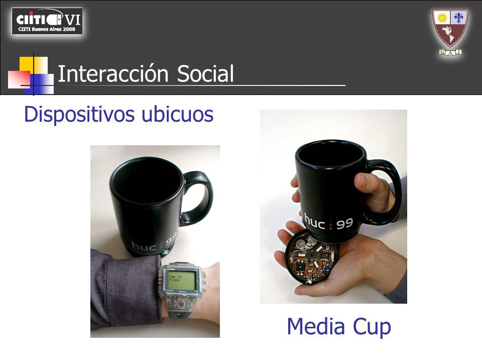 Media Cup Interacción Social Dispositivos ubicuos