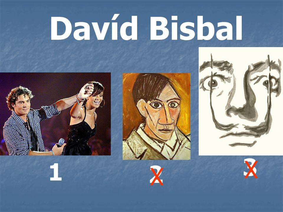 Davíd Bisbal 1 2 3 X X