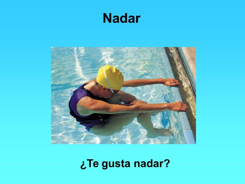 Nadar ¿Te gusta nadar?