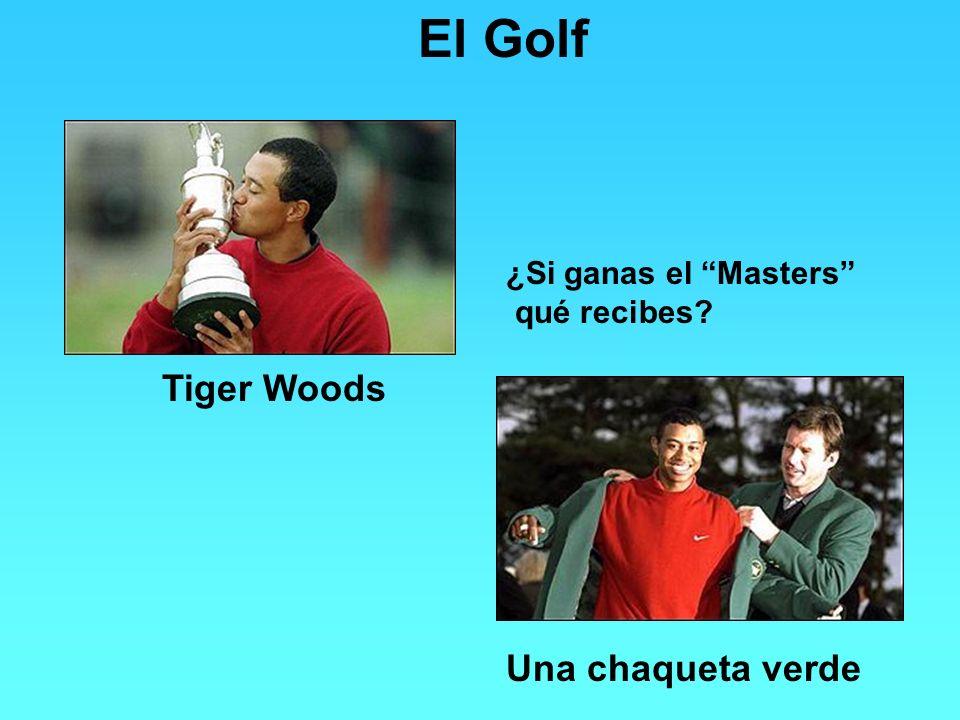 El Golf Tiger Woods ¿Si ganas el Masters qué recibes? Una chaqueta verde