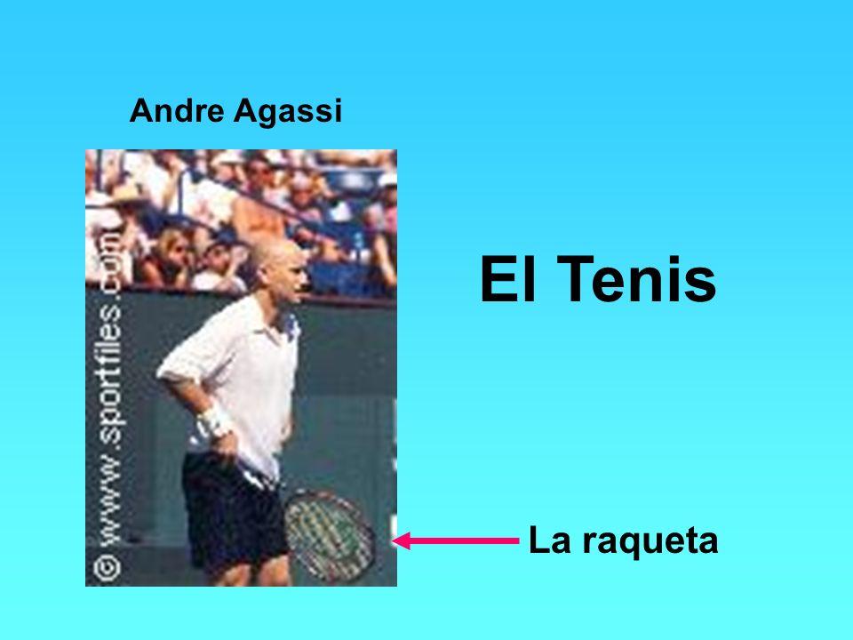 Andre Agassi El Tenis La raqueta